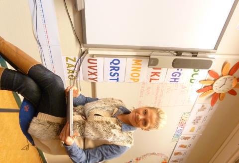 iPads på Hammarbyskolan!