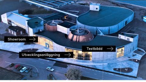 Världsunikt avloppssystem invigs i Helsingborg