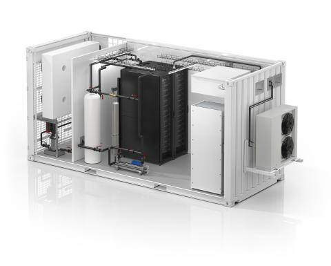 Schneider Electric annoncerer det første alt-i-ét væskekølede, modulære EcoStruxure™-datacenter i branchen