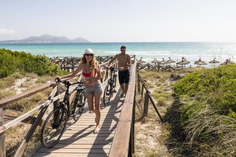 Eden Playa Dünen Fahrrad