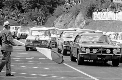 Ford Mustang,historisk bilde