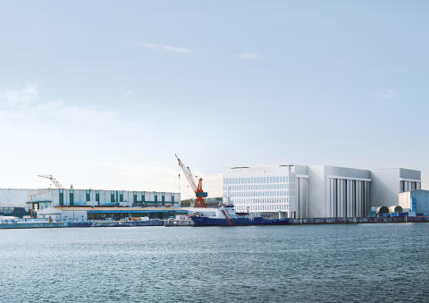 ZÜBLIN, shipbuilding hall thyssenkrupp Marine Systems, Kiel