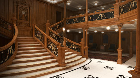 Titanic - Grand Staircase