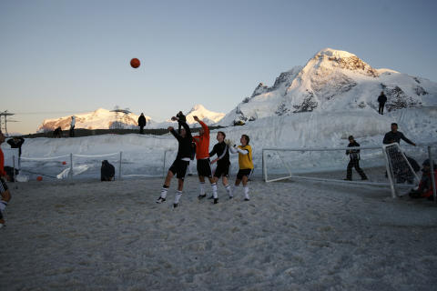 Sony Twilight Football, Zermatt, Switzerland 1