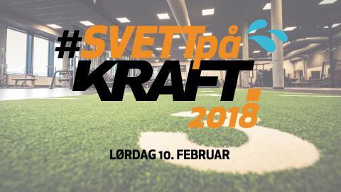 Årets treningsfest på Kraft sportssenter