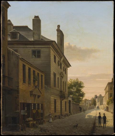 Nyförvärv:  Före fotografin - franskt intimt måleri vid 1800-talets början