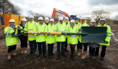 ​Work begins on £8.5m extra care scheme