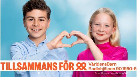 61,4 miljoner kronor till Världens Barn