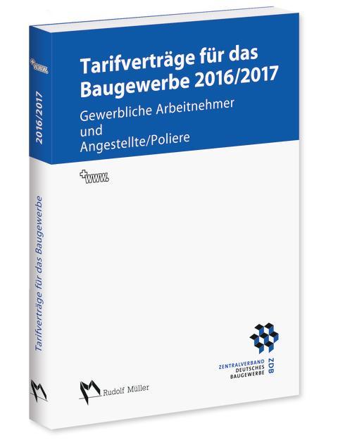 Tarifverträge für das Baugewerbe 2016/2017 (3D/tif)