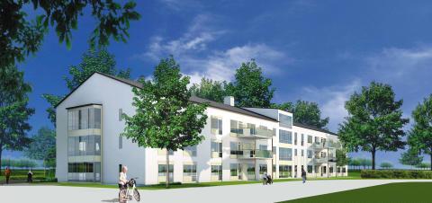 Attendo bygger livsstilsboende för trädgårdsintresserade i Växjö