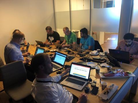 Hackfest i Sporveien med Microsoft