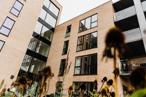 Havnefronten etape 2 er to punkthuse med i alt 29 lejligheder og er mage til etape 1 som er opført og udsolgt