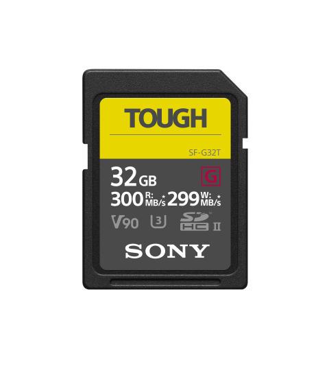 Sony esittelee markkinoiden kestävimmän ja nopeimman muistikortin