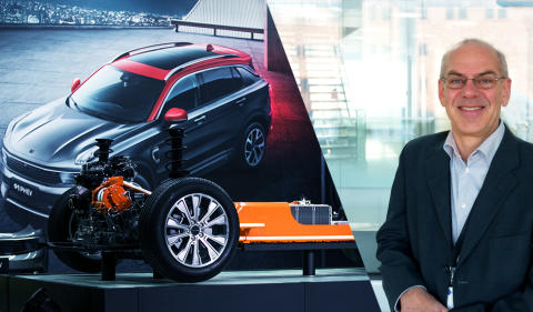 CEVT tests Lynk & Co 01 PHEV in Chalmers hybrid lab