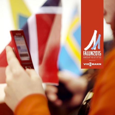 Telia storsatsar på ett uppkopplat Skid-VM i Falun 2015