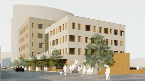 Pressinbjudan: Väntade beslut om nytt socialtjänstens hus, bostäder vid Vedbobacken och nya vårdcentral på Önsta Gryta