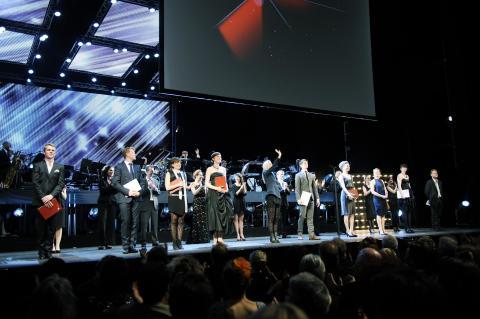 Talentprismodtagere 2014. Fotograf: Jakob Boserup