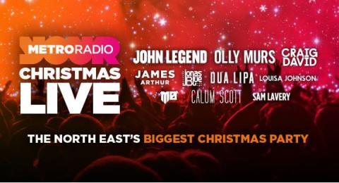 Metro Radio Christmas Live on 16 December