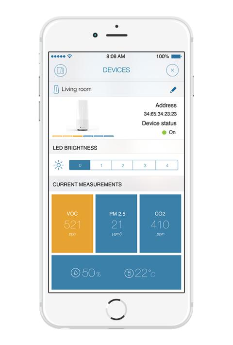 Discover what's in your indoor air with clever new air sniffing sensor and mobile app