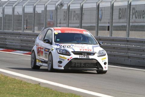 Fords specialbyggda Focus RS som skall tävla i årets 24-timmarstävling på Nürburgring