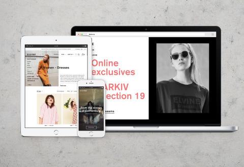 Panagora lanserar ny responsiv e-handel med fokus på inspirerande innehåll för Elvine