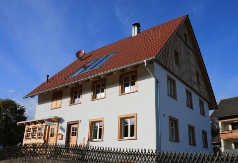 Sanierungspreis 16 Bauherr: Uhremacherhüsli in Lenzkirch