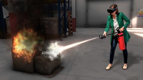 Dafo Brand lanserar VR-utbildning i brandsläckning