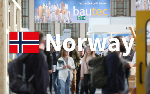 Norge profilerer seg sterkt på bautec i Berlin