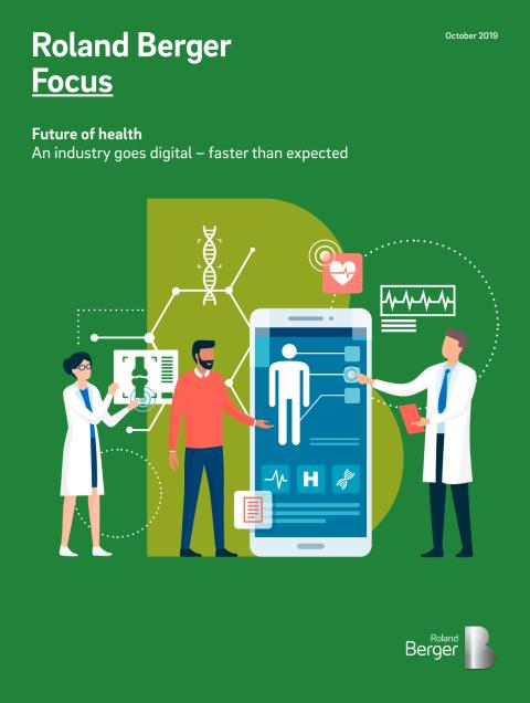 Europe's digital healthcare market forecast to grow to EUR 155 billion by 2025