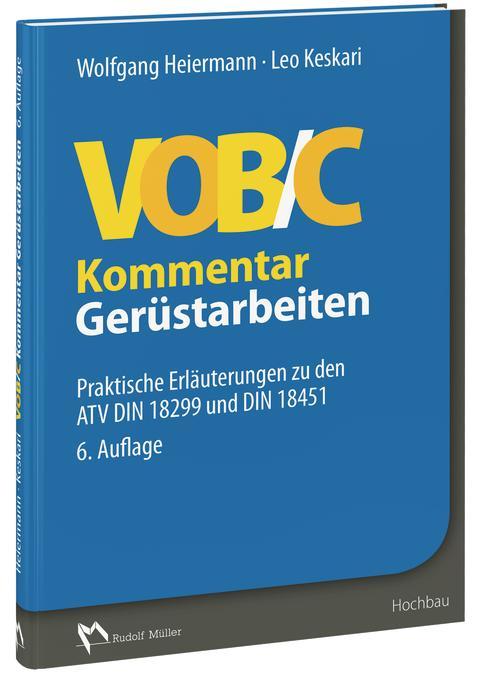 VOB/C Kommentar – Gerüstarbeiten (3D/tif)