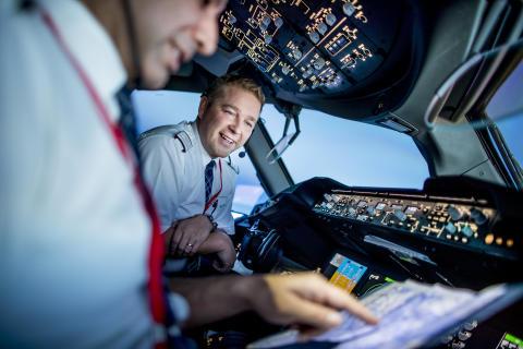 Norwegian Dreamliner pilots
