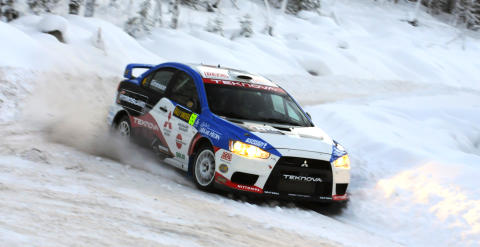 Mitsubishi Evo X rally