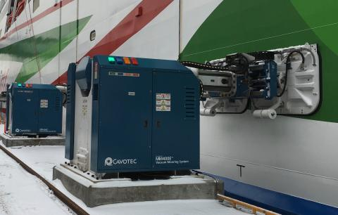 Port of Helsinki once again selects Cavotec automated mooring for faster, safer and cleaner operations