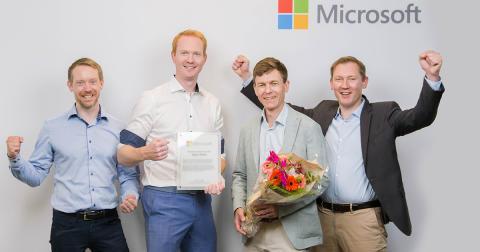 Microsofts kårer Sopra Steria til årets data og AI partner
