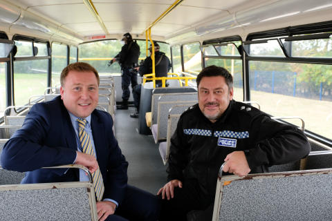 Go North East donates bus to help local Police with essential emergency training