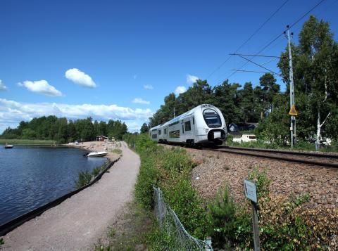 SJs regionaltåg i Kvicksund