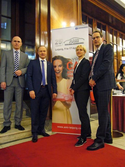 Erfolgreiche Pressekonferenz in Prag: LTM GmbH und Leipziger Messe GmbH werben für AMI und LEIPZIG REGION