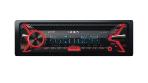 Sony présente le premier autoradio CD au monde*1 disposant d'un amplificateur numérique 4 X 100 W