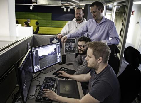 Lager 3D-videoer og avanserte e-læringsløsninger