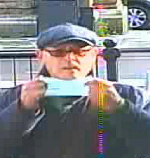 Image of man sought in connection with burglary in Dagenham