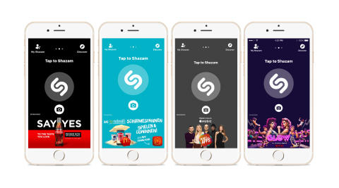 """Shazam Launches """"Brand Takeovers"""" for Full-Screen Ad Experiences at Scale"""