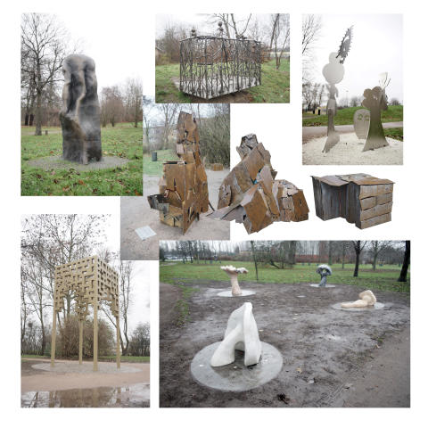 Unik skulpturpark invigd