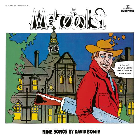 DAVID BOWIE - 'METROBOLIST' (AKA 'THE MAN WHO SOLD THE WORLD') 50th ANNIVERSARY EDITION    REMIXED BY TONY VISCONTI WITH ARTWORK BASED ON ORIGINAL TITLE & DESIGN