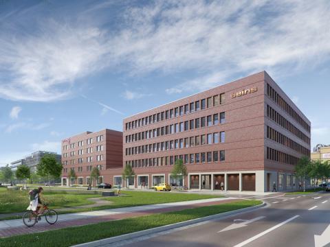 STRABAG Real Estate legt Grundstein für Büro- und Hotelkomplex üeins in Bremen
