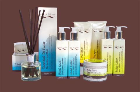 Aqua Sana Spa launch new own brand product range