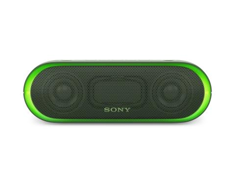 SRS-XB20 von Sony_grün_5