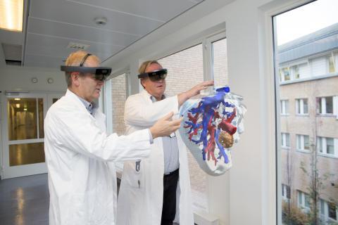 Norsk forskningsprosjekt bringer HoloLens-teknologi inn i operasjonssalen
