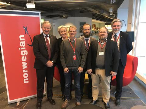 Norwegian og SEPLA inngår tariffavtale
