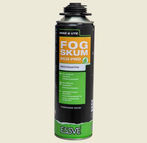 Essve launches two new foam sealants: Foam Sealant Eco Pro and Foam Sealant Flex Pro