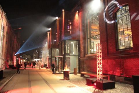 Feierliche Eröffnung: Theaterspielstätte Kraftwerk Mitte Dresden